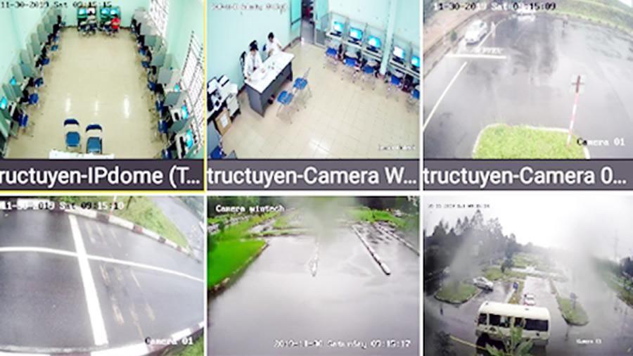 Triển khai công tác giám sát trực tuyến công tác sát hạch lái xe