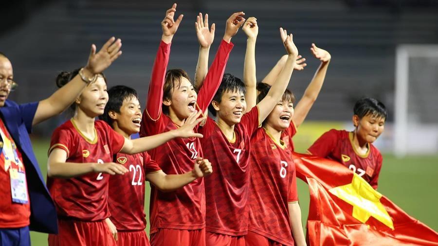 Nữ Việt Nam bảo vệ thành công HCV SEA Games