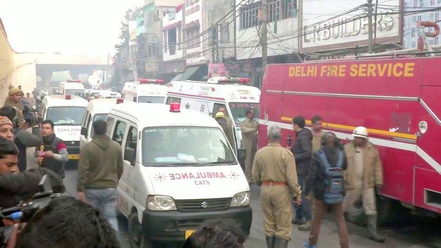 Cháy lớn ở Ấn Độ, hơn 40 người chết