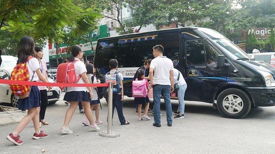 Hà Nội 'điểm danh' các trường vi phạm khi thuê phương tiện đưa đón học sinh