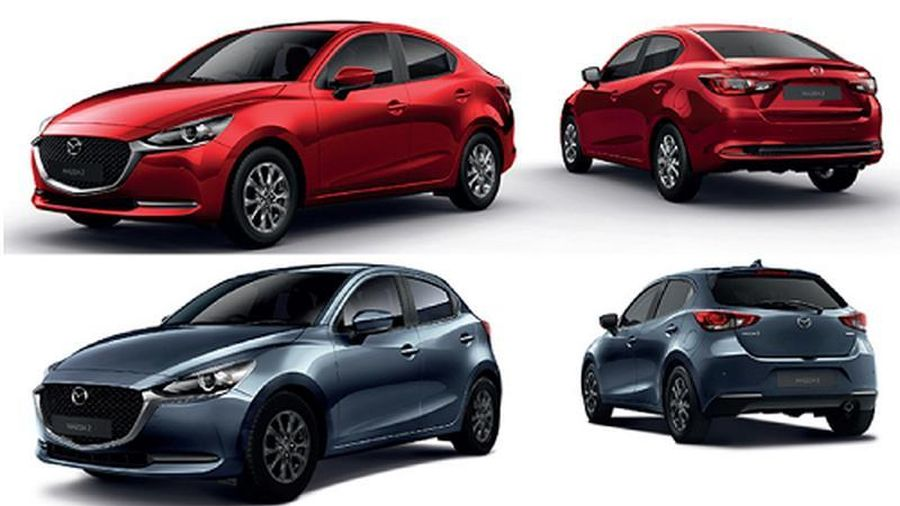 Mazda2 2020 từ 416 triệu đồng tại Thái, sắp về Việt Nam