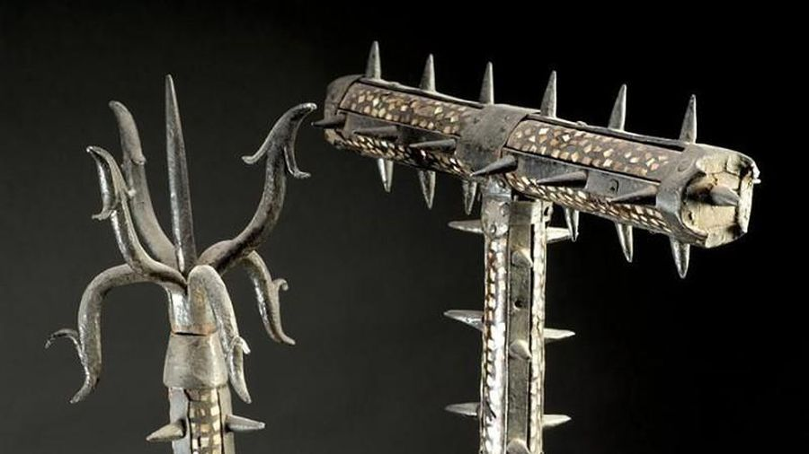 Lạ lùng vũ khí chuyên dùng để chống samurai Nhật Bản