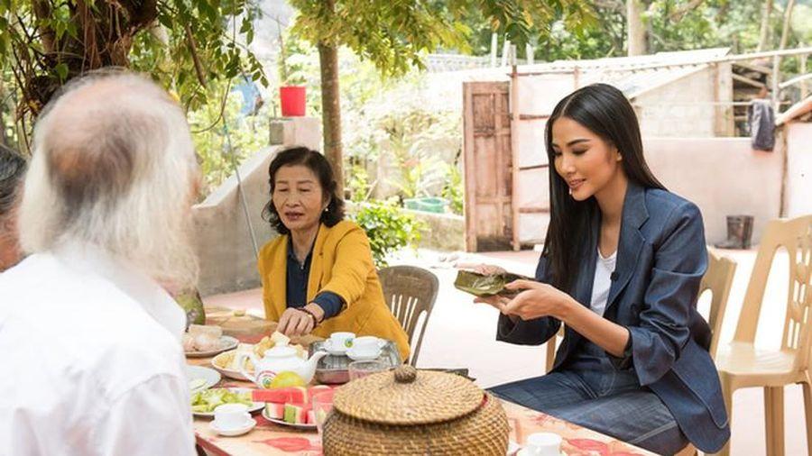 Nhà Sài Gòn và quê Thanh Hóa của Á hậu Hoàng Thùy khác nhau thế nào?