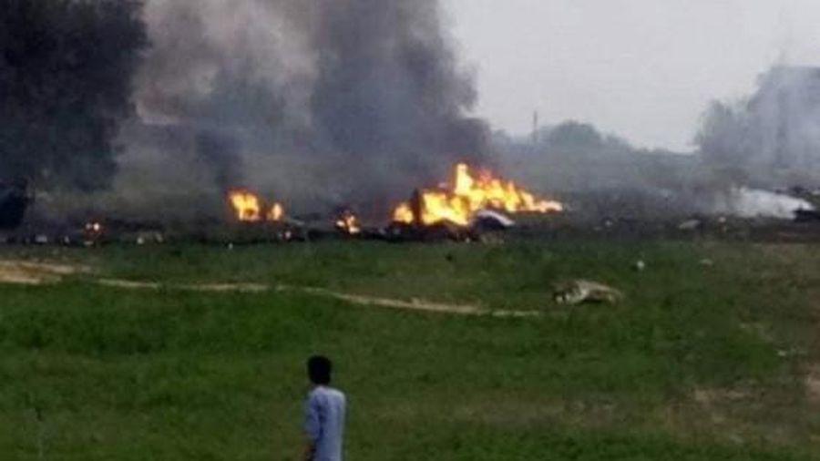 Chiến binh Thổ Nhĩ Kỳ bắn hạ chiến cơ siêu thanh MiG-23 của quân đội Haftar