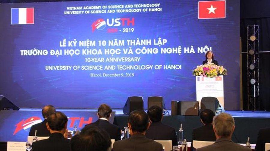 Trường ĐH Khoa học và Công nghệ Hà Nội: Dấu ấn 10 năm