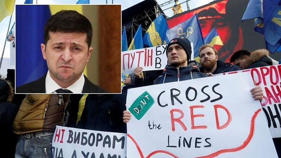 Phe đối lập gây sức ép với TT Ukraine trước cuộc họp với TT Putin