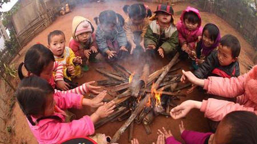 Hà Giang: Đảm bảo sức khỏe cho HS trong thời tiết rét đậm, rét hại