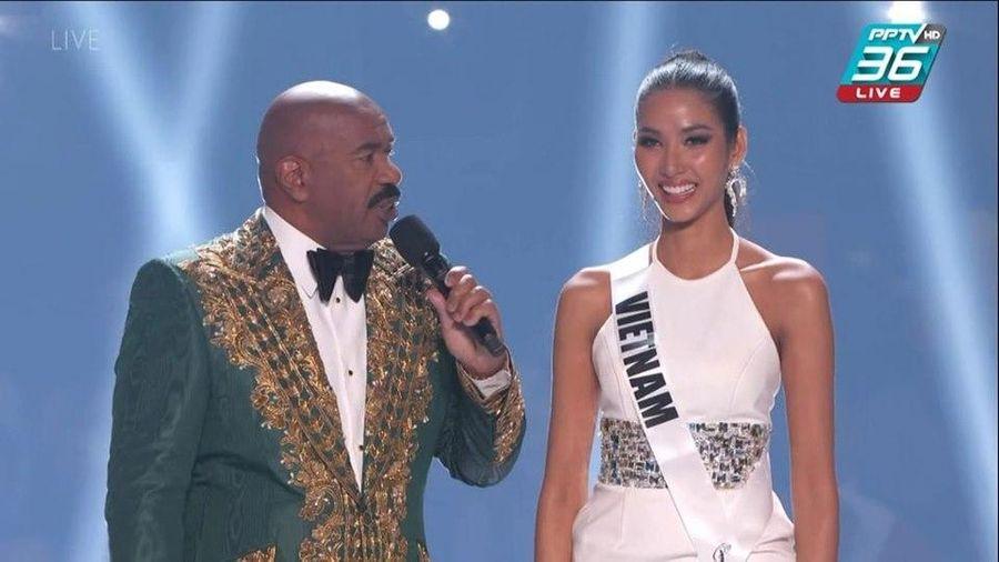 Hoàng Thùy khiến fan Việt tự hào khi mang ca dao tục ngữ đến Miss Universe 2019