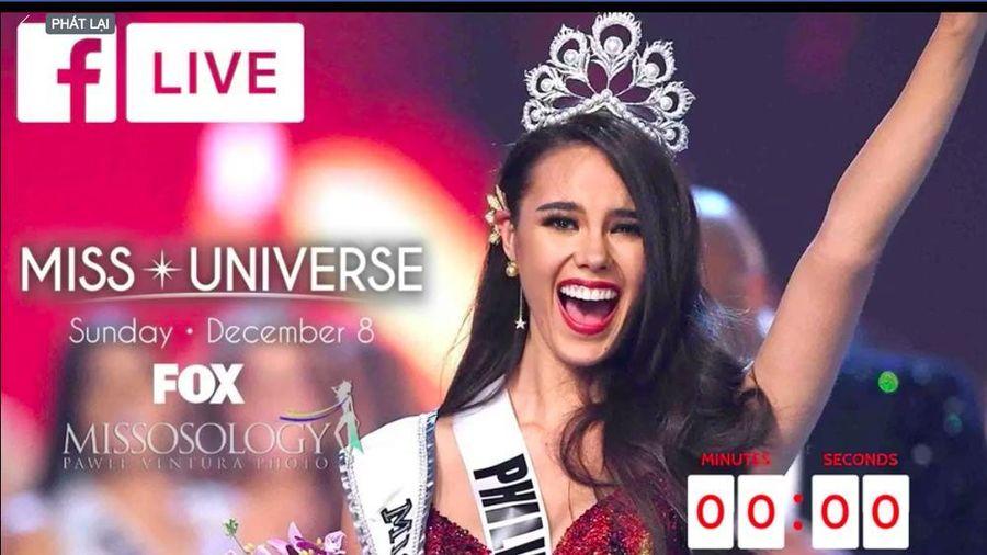XEM TRỰC TIẾP: Chung kết Hoa hậu Hoàn vũ Thế giới 2019