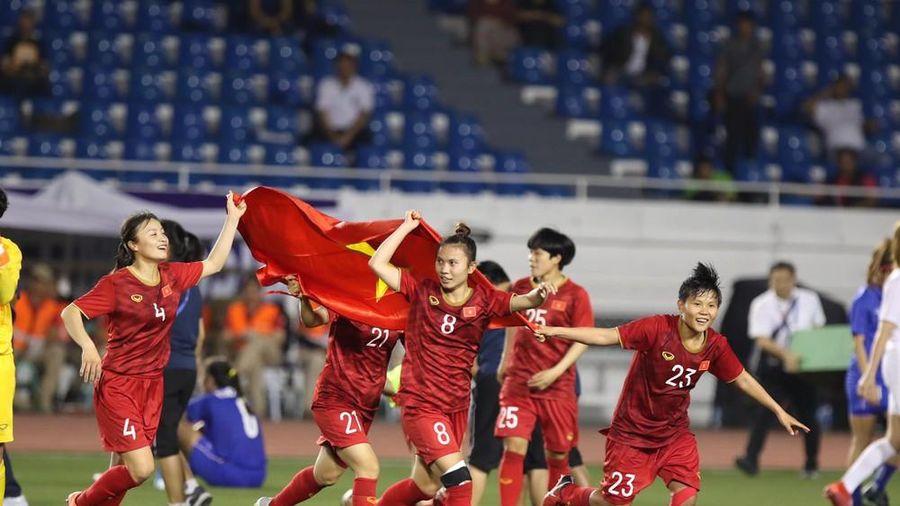 Đội tuyển bóng đá nữ tiếp tục nhận 'mưa' tiền thưởng