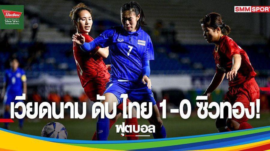 Báo Thái Lan ngậm ngùi trước chiến thắng của nữ Việt Nam
