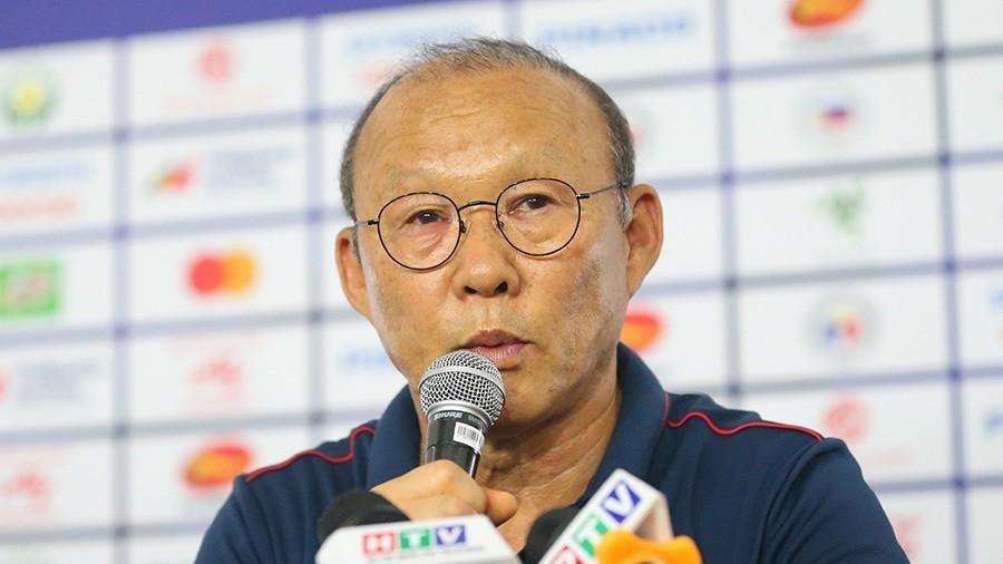 HLV Park Hang Seo họp báo trước chung kết SEA Games 30