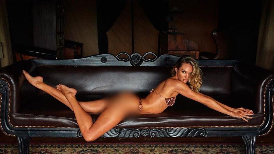 Mê đắm thân hình tuyệt mỹ của nữ thần Nam Phi Candice Swanepoel