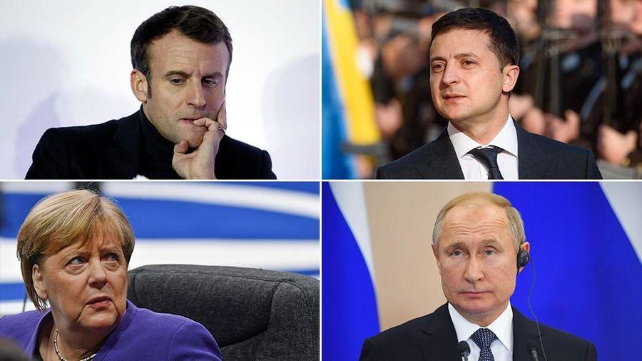 Hôm nay, Tổng thống Nga - Ukraine lần đầu gặp mặt tại Paris