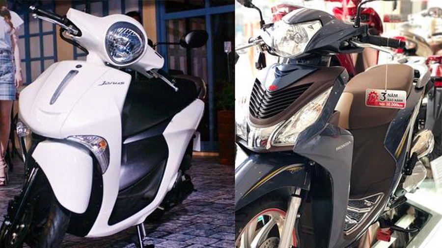 Cuối năm, mua xe tay ga nữ 30 triệu, chọn Honda Vision hay Yamaha Janus?
