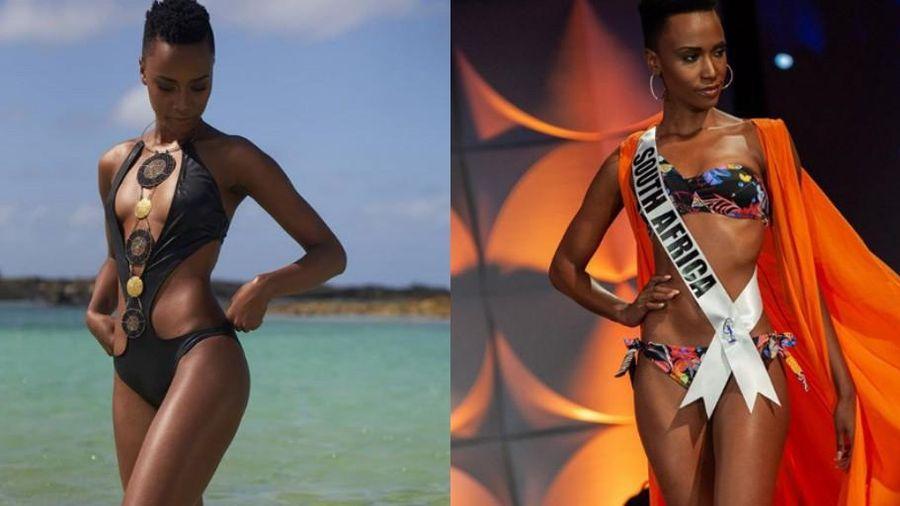 Chiêm ngưỡng nhan sắc tân Hoa hậu hoàn vũ 2019 - người đẹp đến từ Nam Phi
