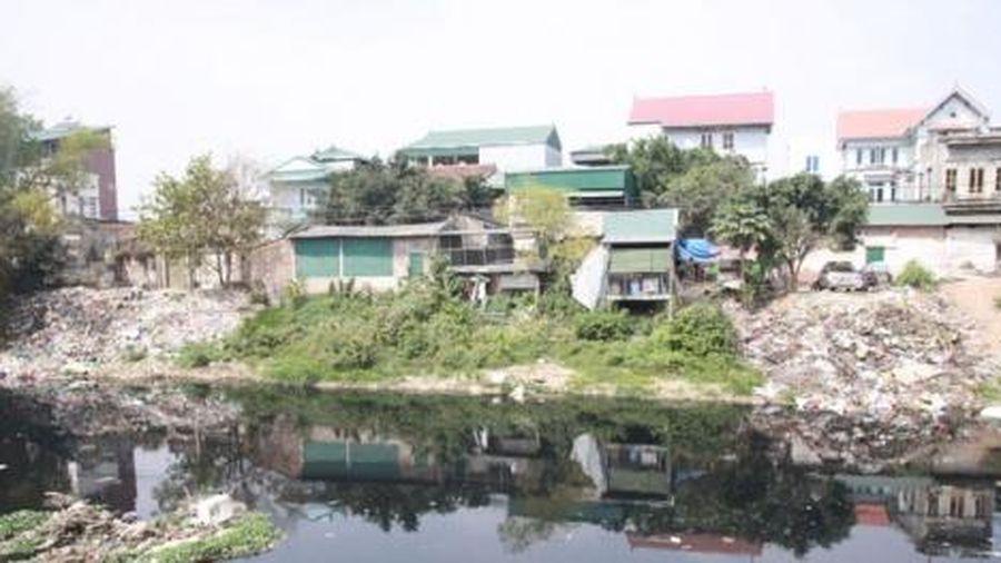 Phát hiện 183 cơ sở vi phạm về môi trường lưu vực sông Nhuệ - Đáy