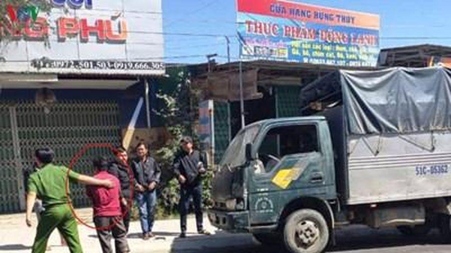 Bắt tài xế xe tải tông cán bộ bảo vệ rừng tử vong rồi bỏ trốn