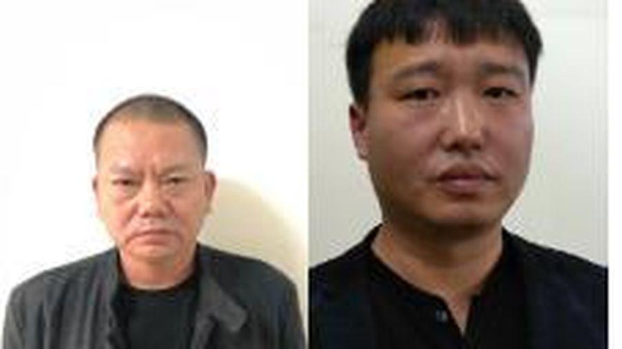Bắt 2 người Trung Quốc đang bị truy nã trốn ở Hải Phòng