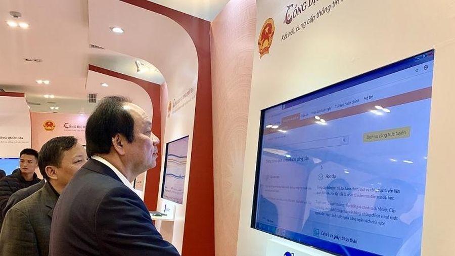 Hệ thống hoàn chỉnh kết nối Chính phủ với người dân, doanh nghiệp