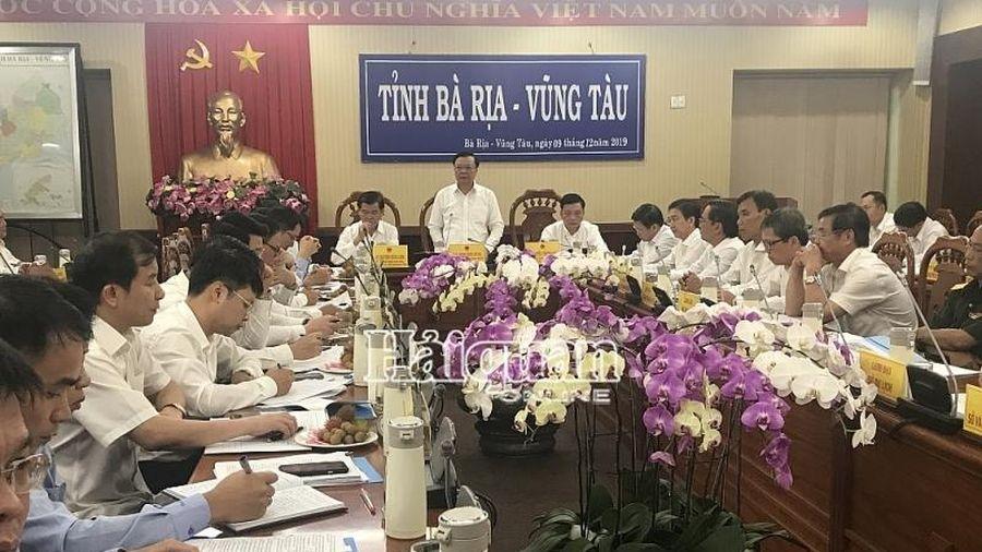 Bộ trưởng Đinh Tiến Dũng làm việc với tỉnh Bà Rịa - Vũng Tàu về thu ngân sách, chống buôn lậu