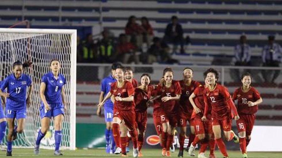 Đội tuyển bóng đá nữ Việt Nam giành huy chương vàng SEA Games 30