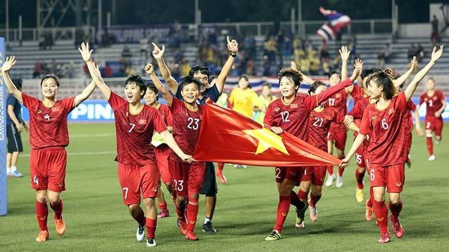 Vô địch SEA Games 30, đội tuyển nữ Việt Nam nhận 'mưa' tiền thưởng