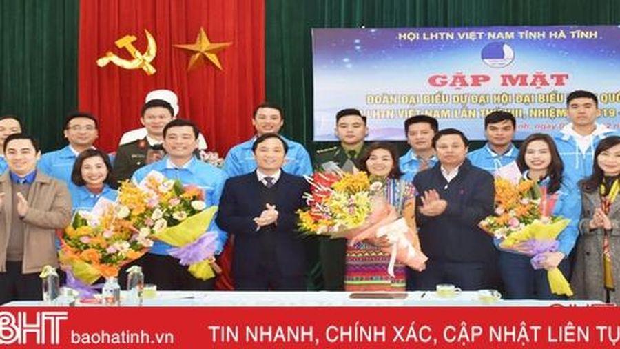 Phát huy trí tuệ, khí chất của thanh niên Hà Tĩnh tại Đại hội đại biểu Hội LHTN Việt Nam