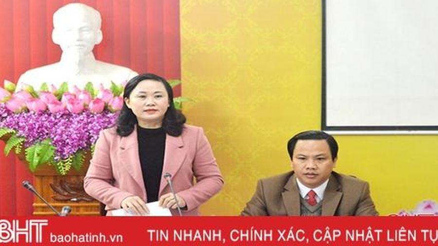 Tổ đại biểu Hồng Lĩnh đồng tình cao các tờ trình, dự thảo nghị quyết trình Kỳ họp thứ 12