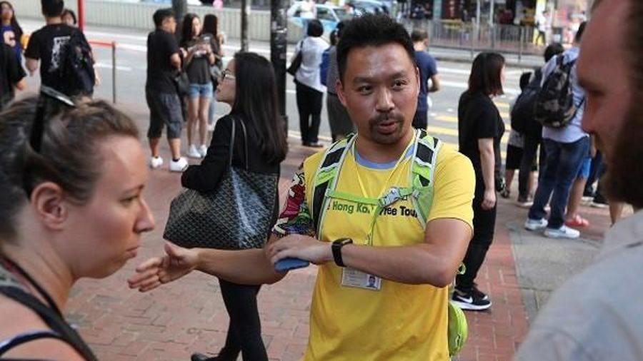 Tour du lịch xem biểu tình tại Hồng Kông
