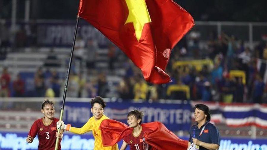 Tuyển nữ Việt Nam được thưởng lớn chưa từng có sau khi đánh bại Thái Lan đoạt HCV SEA Games