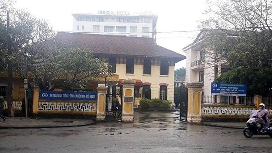 Nhà thầu 'quen mặt' trúng liên tiếp 20 gói tại Sở GTVT Thừa Thiên - Huế