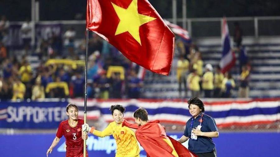Tuyển nữ được ở lại cổ vũ U.22 Việt Nam đá chung kết với Indonesia: Cùng mang HCV về nước