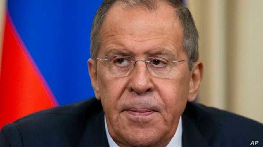 Mỹ xác nhận chuẩn bị đón tiếp Ngoại trưởng Nga Sergei Lavrov
