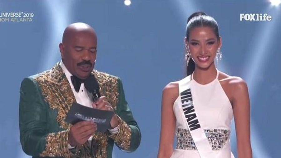 TRỰC TIẾP chung kết Miss Universe 2019: Hoàng Thùy xuất sắc vào top 20