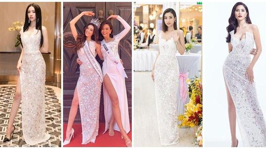 Vừa đăng quang, Hoa hậu Hoàn vũ Khánh Vân bất ngờ bị so sánh với Hoa hậu Việt Nam 2016 Đỗ Mỹ Linh