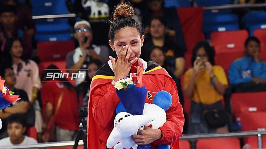 Timor Leste giành tấm huy chương đầu tiên tại SEA Games 30