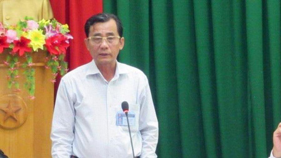 Cách hết chức vụ trong Đảng đối với Chủ tịch HĐND thành phố Phan Thiết