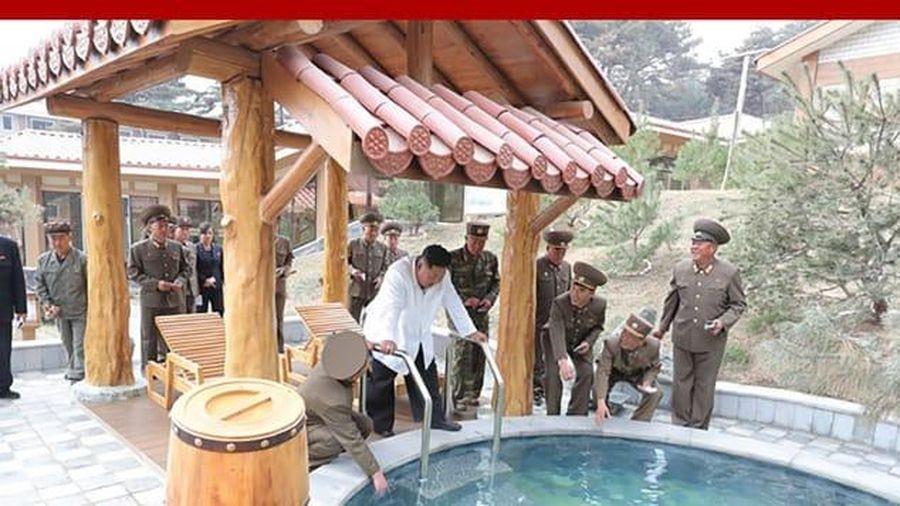 Chủ tịch Kim Jong-un trải nghiệm khu du lịch nghỉ dưỡng cao cấp nhất Triều Tiên