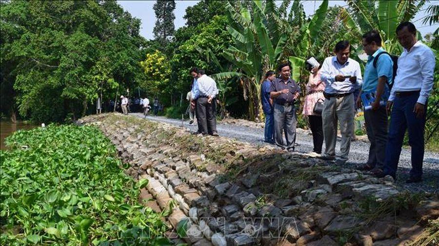 Báo động sạt lở ở Đồng bằng sông Cửu Long - Bài cuối: Cấp bách chống sạt lở