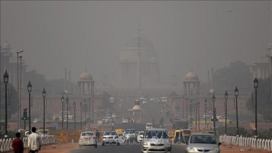 Chất lượng không khí tại thủ đô của Ấn Độ đang ở mức rất kém