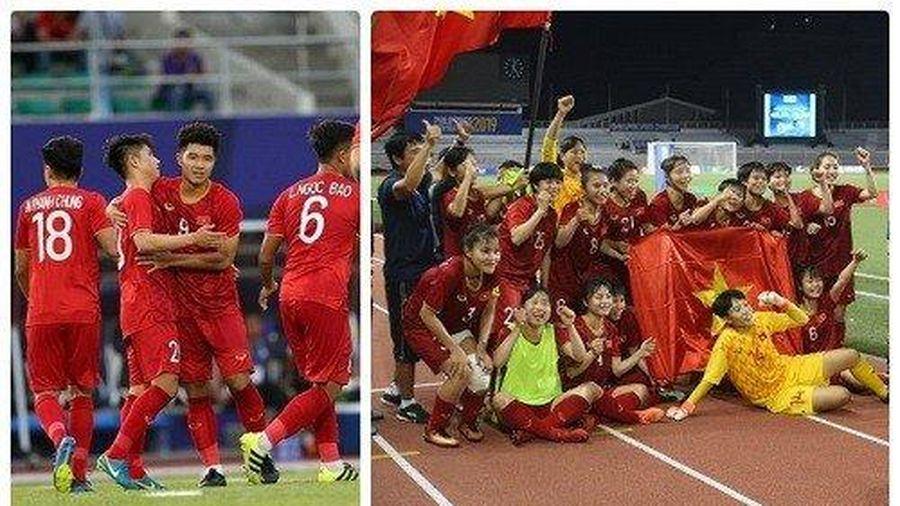 Tấm HCV bóng đá nữ sẽ tiếp thêm sức mạnh cho thầy trò HLV Park Hang-seo