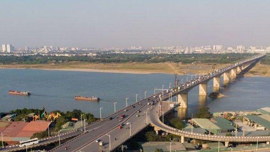 Ngắm nhìn cây cầu Vĩnh Tuy sắp được 'nhân bản'