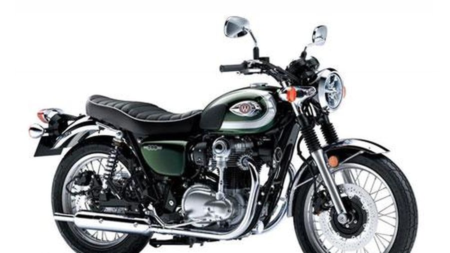 Cận cảnh Kawasaki W800 2020 giá hơn 213 triệu đồng