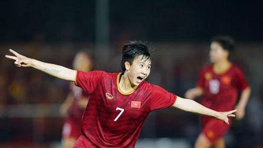 SEA Games 30: Tiền đạo Tuyết Dung chúc U22 Việt Nam giành HCV để 'nam nữ đều vui'