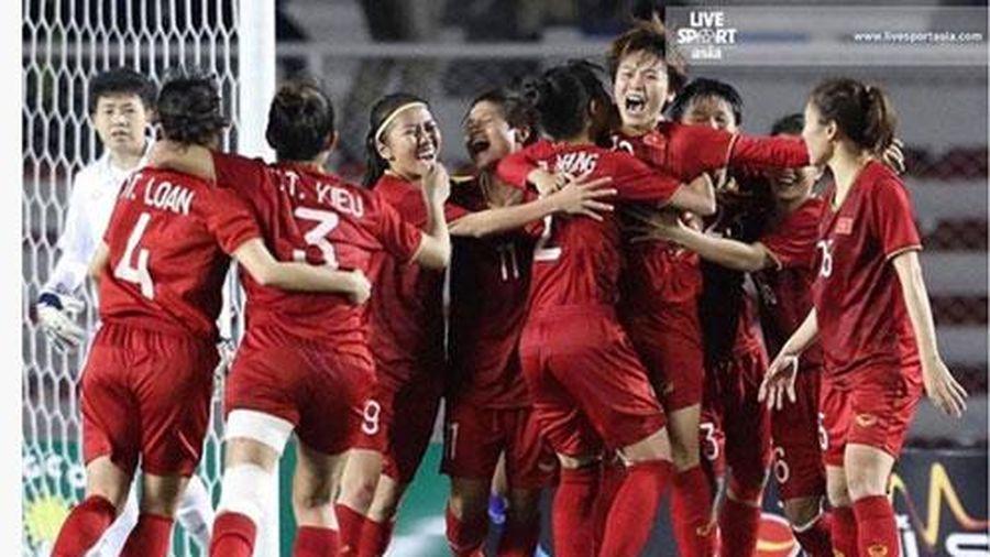 Báo châu Á: 'Đội tuyển bóng đá nữ Việt Nam thống trị Đông Nam Á'