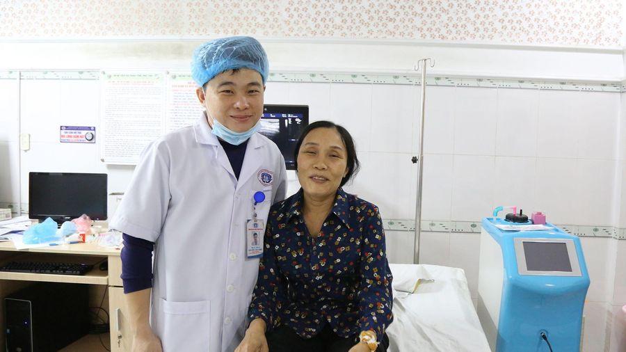 Loại bỏ u vú trong 30 phút: Không đau, không phẫu thuật
