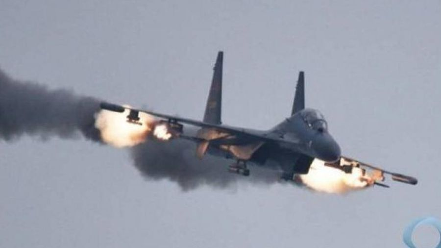 Su-35 của Nga đánh chặn tiêm kích Israel ở Syria