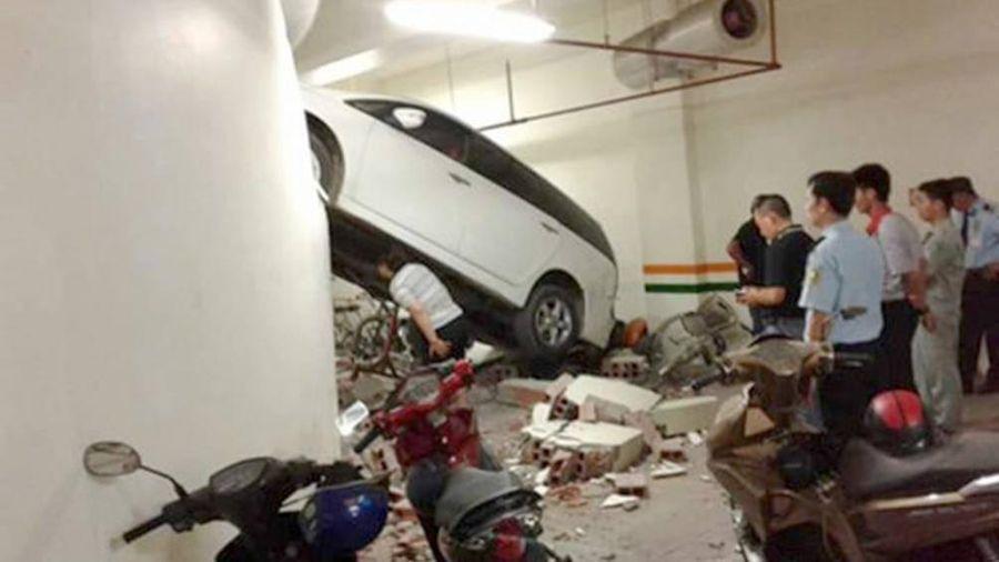 Gây tai nạn trong hầm để xe, xử lý thế nào?