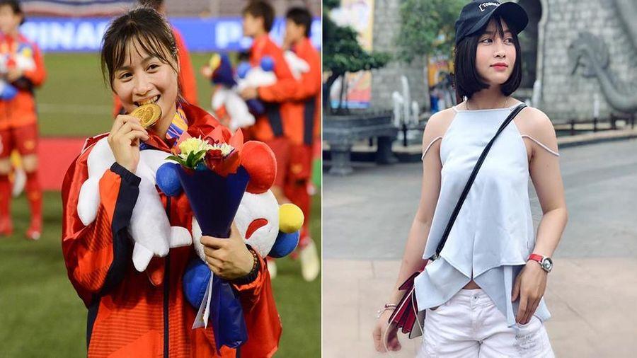 Nhan sắc xinh như hoa hậu của nữ tuyển thủ được săn đón nhất SEA Games 30